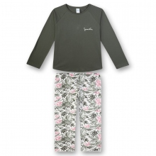 Sanetta Schlafanzug Mäd.lang Blätterhose
