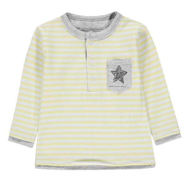 Bellybutton Baby Shirt lg.Arm Ju.Ringel