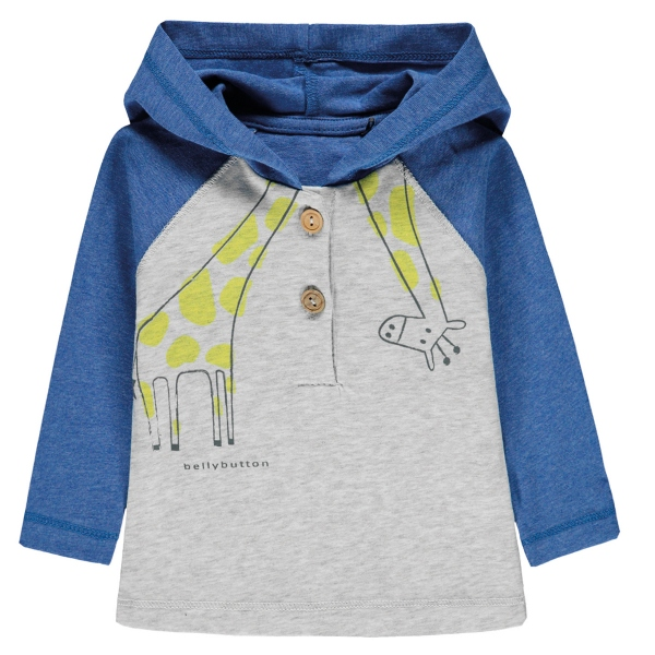 Bellybutton Baby Shirt lg.Arm Ju.Kapuze