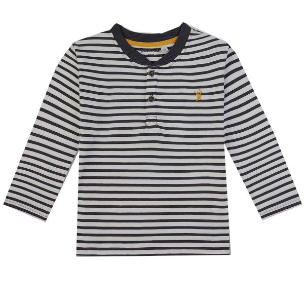 Sanetta Baby Pure Shirt lg.Arm Ju.Ringel
