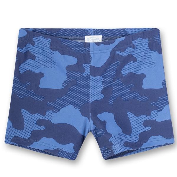 Sanetta Badehose blau Camouflage