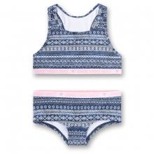 Sanetta Bikini Vintage blau Muster