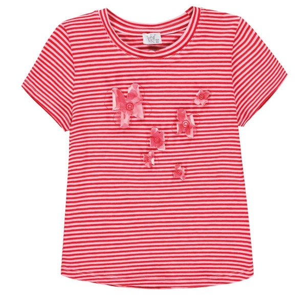Königsmühle T-Shirt Ringel Blüten