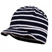 Maximo Mütze mit Schild gestreift