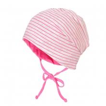 Maximo Beanie pink gestreift