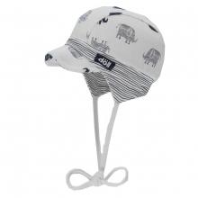 Döll Baby Binde-Schirmmütze Elefanten
