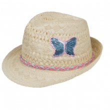Döll Strohhut Schmetterling