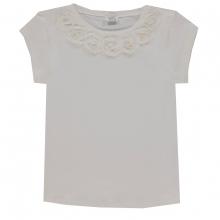 Königsmühle Shirt Blüten Halsausschnitt