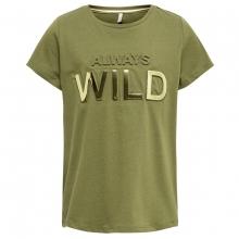 Kids Only T-Shirt Goldverzierung