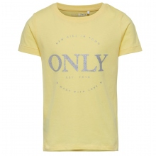 Kids Only T-Shirt Glitzer-Logo
