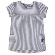 Bellybutton Baby Kleid gestreift Taschen