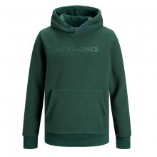 Jack & Jones Fleece Hoody Logo Prägung