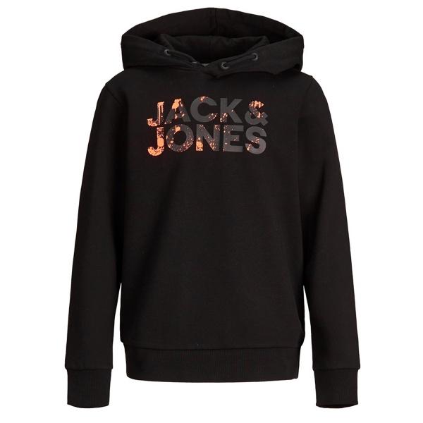 Jack & Jones Sweat Schriftzug bunt Kapuz