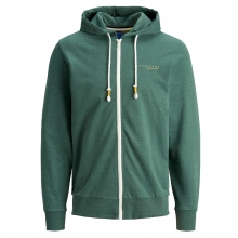 Jack & Jones Sweatjacke uni Kapuze