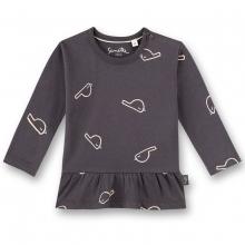 Sanetta Pure Baby Shirt Mäg.lg.Arm Vogel