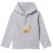 Steiff Fleece Basic Sweatshirt Kapuze