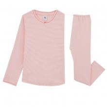 Petit Bateau Mä Schlafanzug lang Ringel