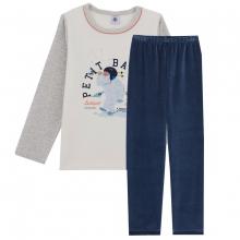 Petit Bateau Ju Schlafanzug Nicky Yeti