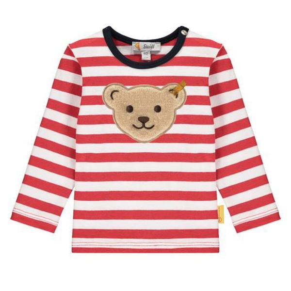 Steiff Baby Shirt lg.Arm Ju.geringelt