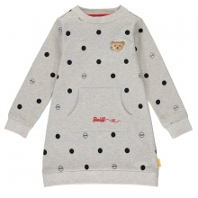 Steiff Sweat Kleid Punkte