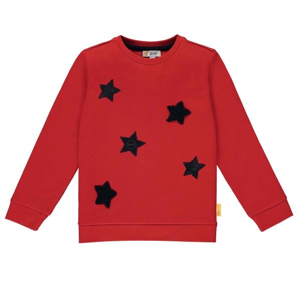 Steiff Sweatshirt Mäd.Pailletten Sterne