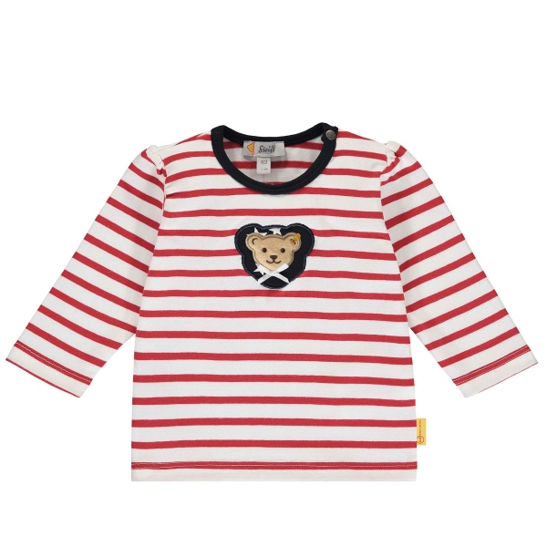 Steiff Baby T-Shirt lg.Arm Mäd. Ringel