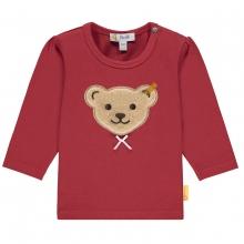 Steiff Baby Shirt l.Arm Mäd.Bär Schleife