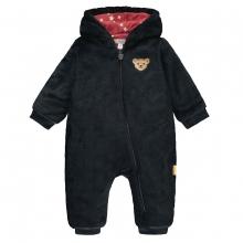 Steiff Baby Fleece Overall Mäd.Kapuze