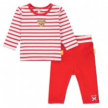 Steiff Baby Set Leggings+lg.Arm Shirt