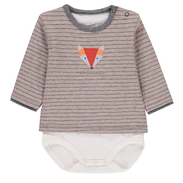 Bellybutton Shirt Body lg.Arm Ju.Fuchs