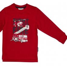 Salt & Pepper Sweatshirt Feuerwehr uni