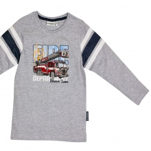 Salt & Pepper Shirt lg.Arm Feuerwehr