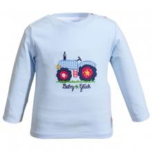 Salt&Pepper Babyglück Shirt lg.A Traktor