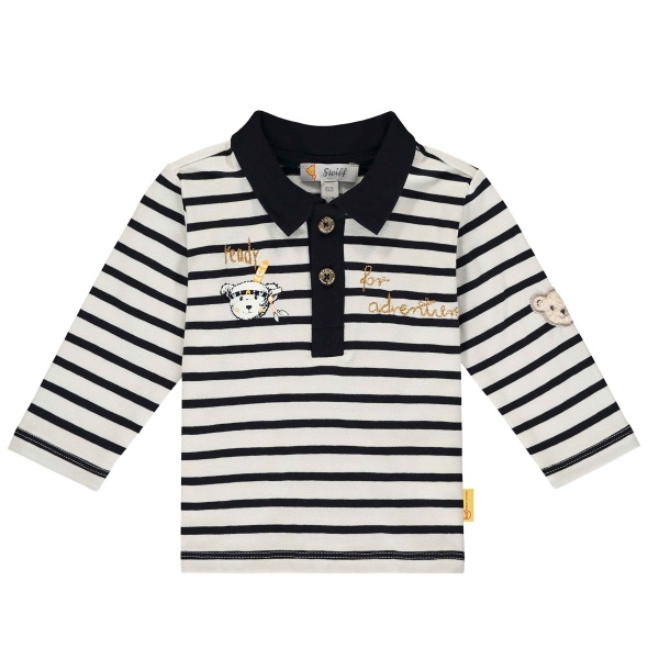 Steiff Baby Poloshirt lg.Arm Ju.Indianer