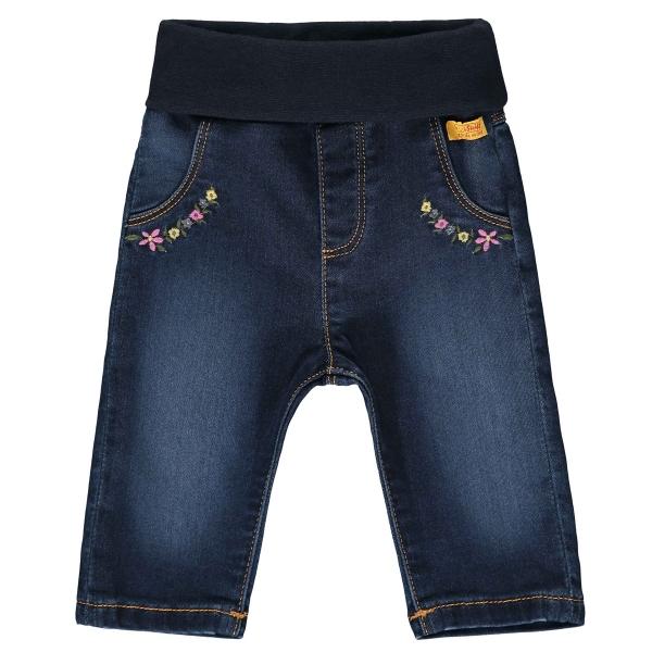 Steiff Baby Jeanshose Mäd.Blüten