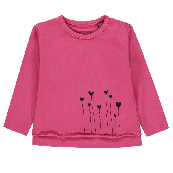 Bellybutton T-Shirt Mäd. lg.Arm Herzen