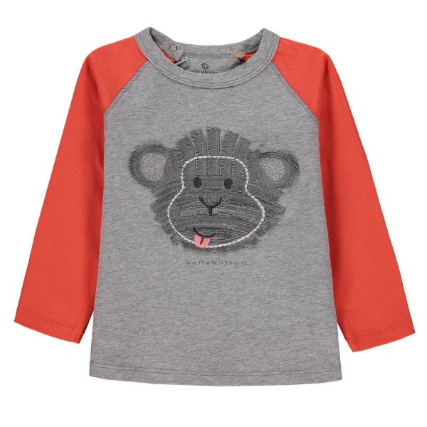 Mother Nature Shirt lg.Arm Ju.Affe groß