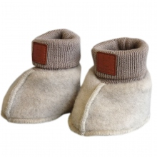 Maximo Gots Baby Schuh Wollfleece