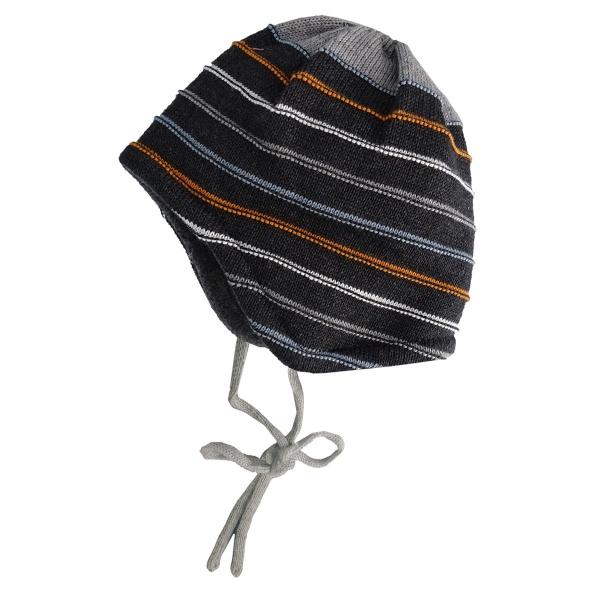 Maximo Baby Strick Mütze ausgenäht