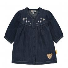 Steiff Baby Jeans Kleid ausgestellt