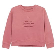 Marc O´Polo Sweat Wording-Print Herz
