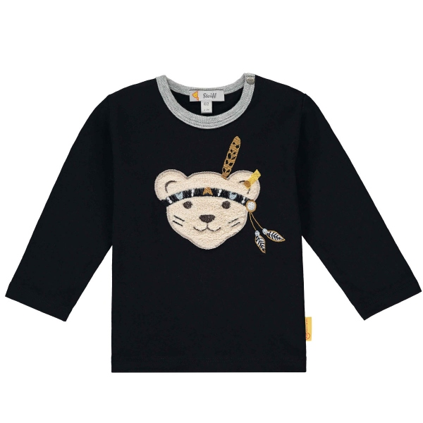 Steiff Baby Shirt lg.Arm Indianer