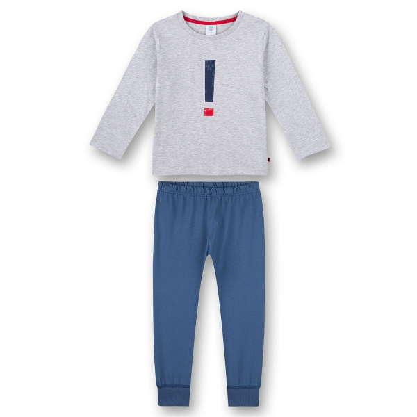 Sanetta Pyjama lang Ju. Ausrufezeichen