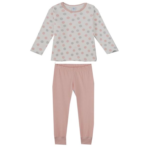 Sanetta Pyjama lang Mäd. allover Dots