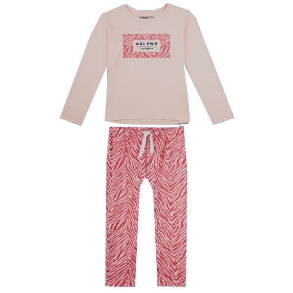 Sanetta Pyjama lang Mäd. GRLPWR