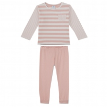 Sanetta Pyjama lang Mäd. Rosa Ringel