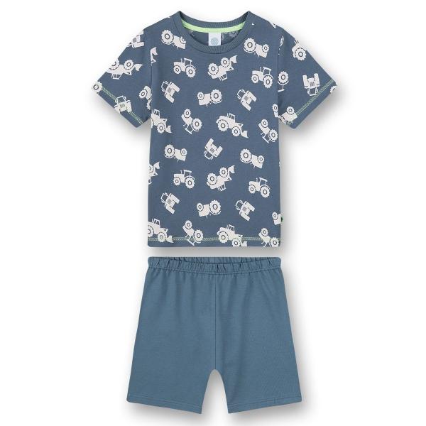 Sanetta Pyjama kurz Ju. allover Radlader