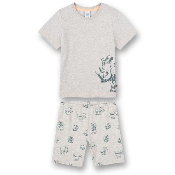 Sanetta Pyjama kurz Ju. Nashorn