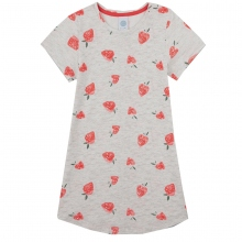 Sanetta Nachthemd k.Arm Erdbeeren