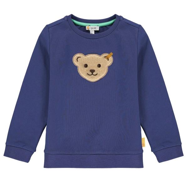Steiff Sweatshirt Ju. großer Bärenkopf